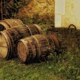 French Wine Barrels 2