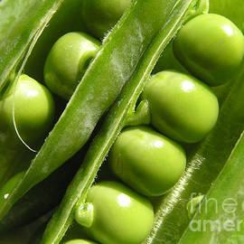 Kerstin Ivarsson - Fresh green peas in the sunlight