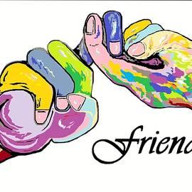 Eloise Schneider - FRIENDS . . . An American Sign Language Painting
