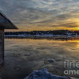 Joe Faragalli - Frigid Sunrise in Maine