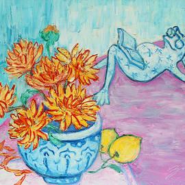 Xueling Zou - Frog Chrysanthemum Tea