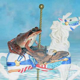 Linda Troski - Frog Rides the Patriot