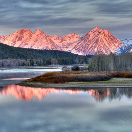 Steve Stuller - Frosty Morning in the Tetons