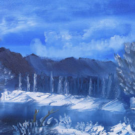 Meryl Goudey - Frosty Mountain River