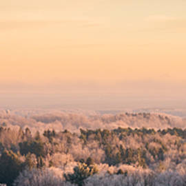 Chris Bordeleau - Frosty Valley Panorama