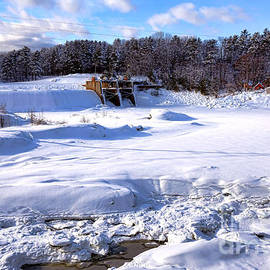 Olivier Le Queinec - Frozen Androscoggin River