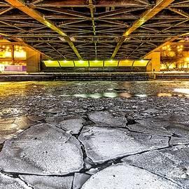 Enis Mullaj - Frozen Chicago River