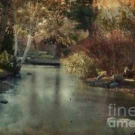 Bobbee Rickard - Frozen Creek Digital Oil Paint