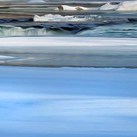 Bill Wakeley - Frozen Winter River