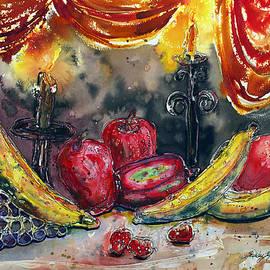 Shirley Sykes Bracken - Fruit Drape and Candle