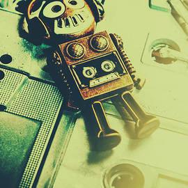 Funky mixtape robot - Jorgo Photography - Wall Art Gallery