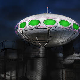 Gary Warnimont - Futura  saucer home