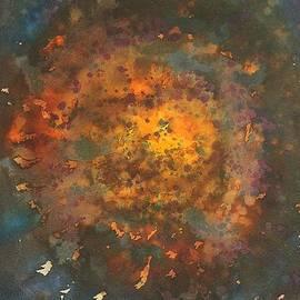 Sol Luckman - Galactica original painting