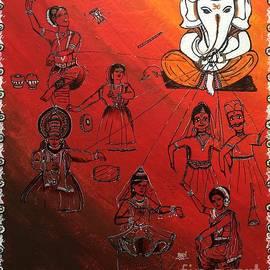 Aarti Bartake - Ganesha - Sutradhar