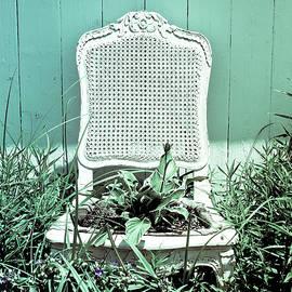 Colleen Kammerer - Garden Chair - Seafoam