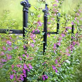 Jean OKeeffe Macro Abundance Art - Garden Fence