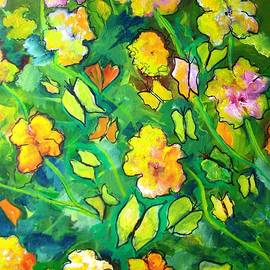 Patricia Taylor - Garden of Happiness with Butterflies