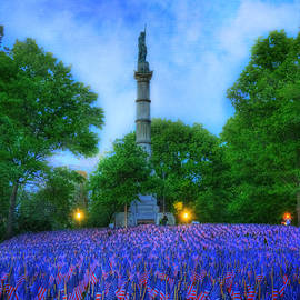 Joann Vitali - Garden of Heroes at the Soldiers and Sailors Monument - Boston Common