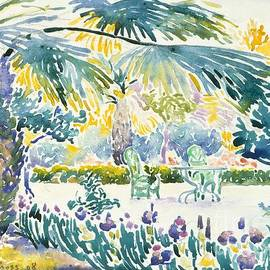 Garden of the Painter at Saint Clair