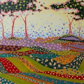 Karen Williams-Brusubardis - Garden Particles