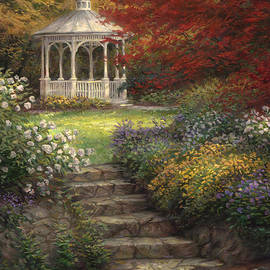 Garden Steps - Chuck Pinson