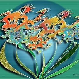 Iris Gelbart - Garden Wonder 5