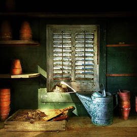 Mike Savad - Gardener - The potters shed