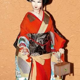 Diann Fisher - Geisha with Lantern Print