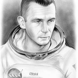 Astronaut Gene Cernan - Greg Joens