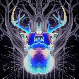 Gentle Deer Mirror Invert - Sarah Jane