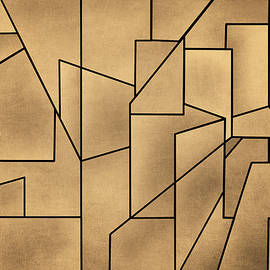 David Gordon - Geometric Abstraction III Toned