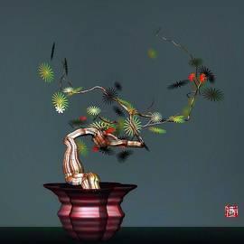 GuoJun Pan - Geometric Floral1