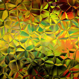 Lilia D - Geometric Golden Abstract