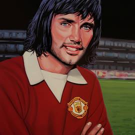 Paul Meijering - George Best Painting