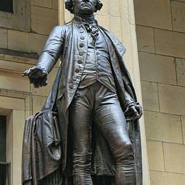 Allen Beatty - George Washington Sculpture Federal Hall