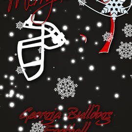 GEORGIA BULLDOGS CHRISTMAS CARD 2 - Joe Hamilton