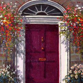 Sean Conlon - Georgian Door in Burgundy