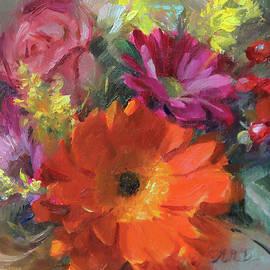Gerber Daisy Study - Anna Rose Bain