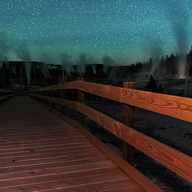 Mike Berenson - Geyser Basin Boardwalk