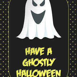 JH Designs - Ghostly Halloween Ghost