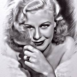 Scott Wallace  - Ginger Rogers Sketch