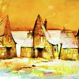 Valerie Anne Kelly - Gingerbread Cottages