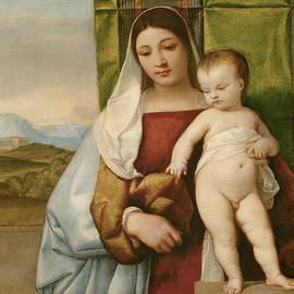 Gipsy Madonna - Titian