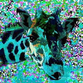 Saundra Myles - Giraffe Abstract