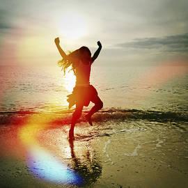Skip Nall - Girl Dancing On The Beach