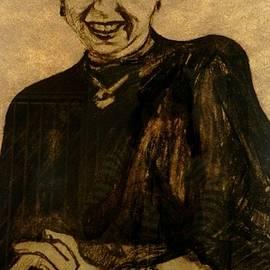 Jolante Hesse - Girl in a Black Dress