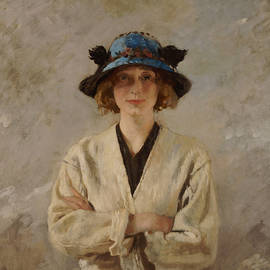 Girl in a Blue Hat, 1912 - Sir William Orpen