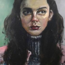 Andrey Arsentyev - Girl in grey sweater.