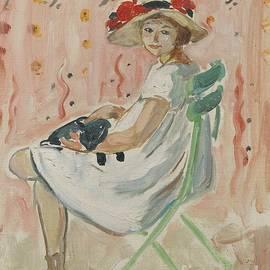 Henri Lebasque - Girl in the chair