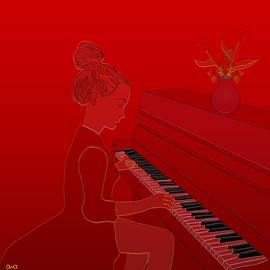 Anna Elia - Girl playing piano